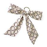 [ジュエルボックス] JewelVOX キーホルダー 全23色 7タイプ スカーフ リボン モチーフ バックチャーム バッグチャーム ベルト柄 キーホルダー バック用スカーフ 格子柄 B