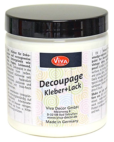 Viva Decor Decoupage Kleber und Lack 8.45oz-Clear,