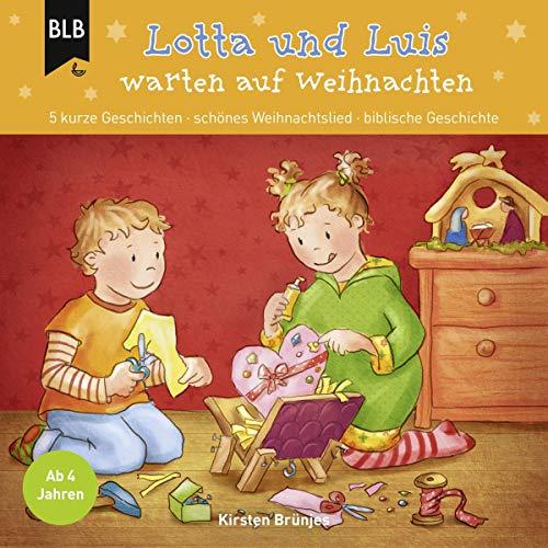 Lotta und Luis warten auf Weihnachten Titelbild
