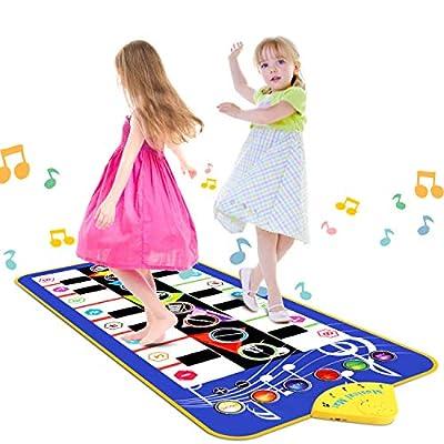 RenFox-2 Instruction Musical Piano Mat from RenFox