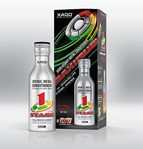 XADO, aditivo para Aceite de Motor. Protege el Motor, restaura Las Superficies y actúa contra el Desgaste. Acondicionador Molecular con Revitalizant 1 Stage Maximum (para 5L de Aceite)