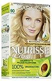 Garnier Nutrisse Creme Coloration Hellblond 90 / Färbung für Haare für permanente Haarfarbe (mit...