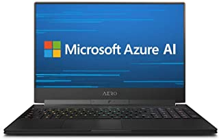 AERO 15X9世界初AIを搭載するゲーミングノートパソコン・All Intel Inside/Microsoft Azure AI/ 15.6インチ/144Hz FHD/RTX 2070 8G/ i7-8750H /Samsung 16G*1/1TB Intel SSD/ Windows 10