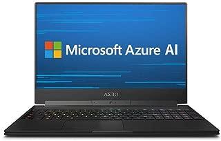 GIGABYTE AERO 15X9世界初AIを搭載するゲーミングノートパソコン・All Intel Inside/Microsoft Azure AI/ 15.6インチ/UHD/RTX 2070 8G/ i7-8750H /Samsung 16G*2/1TB Intel SSD/ Windows 10 Pro