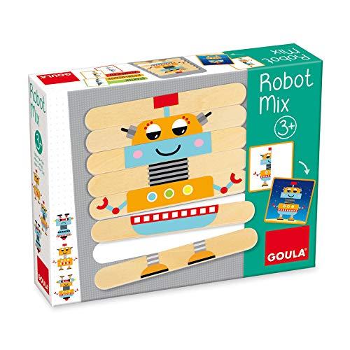 Goula- Robot Mix Juego Educativo para Niños, Multicolor (50212)