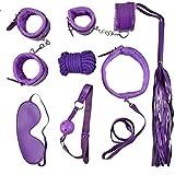 ZPDM Unter den Bed Restraints 7 Piece Set-Starke und dauerhafte übungsbänder-geeignet für Männer und Frauen 4 Farben,Purple