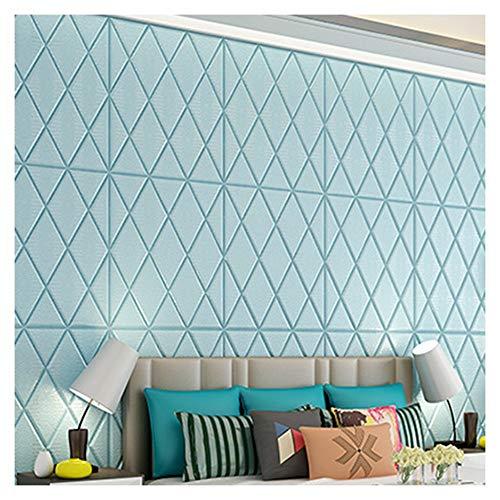 KAERMA Selbstklebende Tapete Leder Kunst Soft Paket Dekoration Schlafzimmer Wohnzimmer TV Hintergrund Wand Selbstklebende Tapete Dekorationswerkzeuge (Color : Bronze)