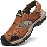 Flarut Sandalias Deportivas Hombres Verano Exterior Senderismo Zapatos Trekking Casual Zapatos de...
