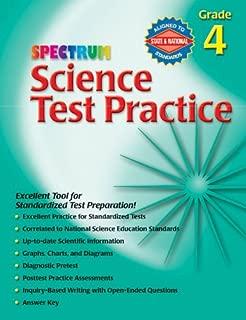 Science Test Practice, Grade 4 (Spectrum)
