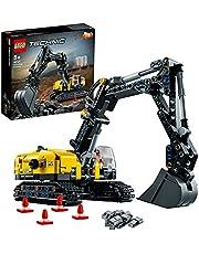 LEGOTechnicEscavatorePesanteeTrattoreCingolato,Giocattolo2in1,CostruzioniperBambinieBambine8+Anni,42121