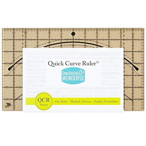 Fabric Quick Curve Ruler Multi