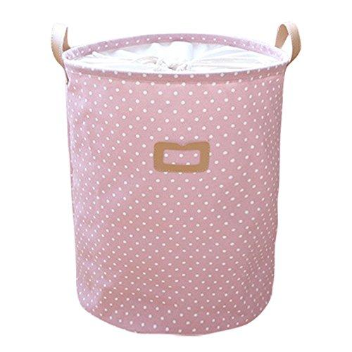Cesto de ropa infantil rosa