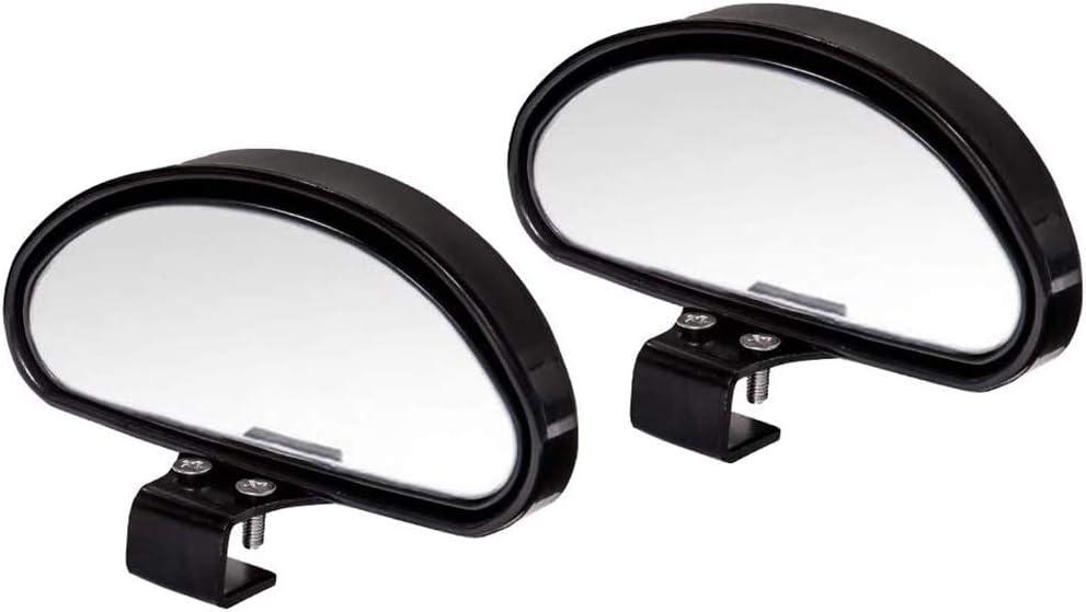 AIHOUSE Blind-Spiegelspiegel Einstellbarer Winkel Wasserdichtes Auto Hilfsmittel Universal Weitwinkelspiegel F/ür Universalwagen,Schwarz,Small