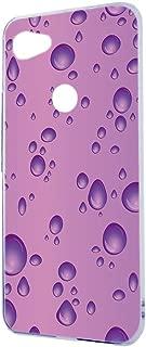 ケース ハードケース Google Pixel 3a XL G020H [バブル・ピンク] きらきら 水滴 3D風 グーグル ピクセル スリーエー エックスエル スマホケース 携帯カバー [FFANY] drop-h161@02