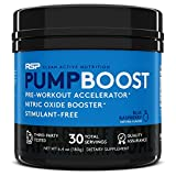 RSP Pump Boost - Stimulant Free Pre Workout & Nitric Oxide Booster, N.O. Boost for Enhanced Pumps,...