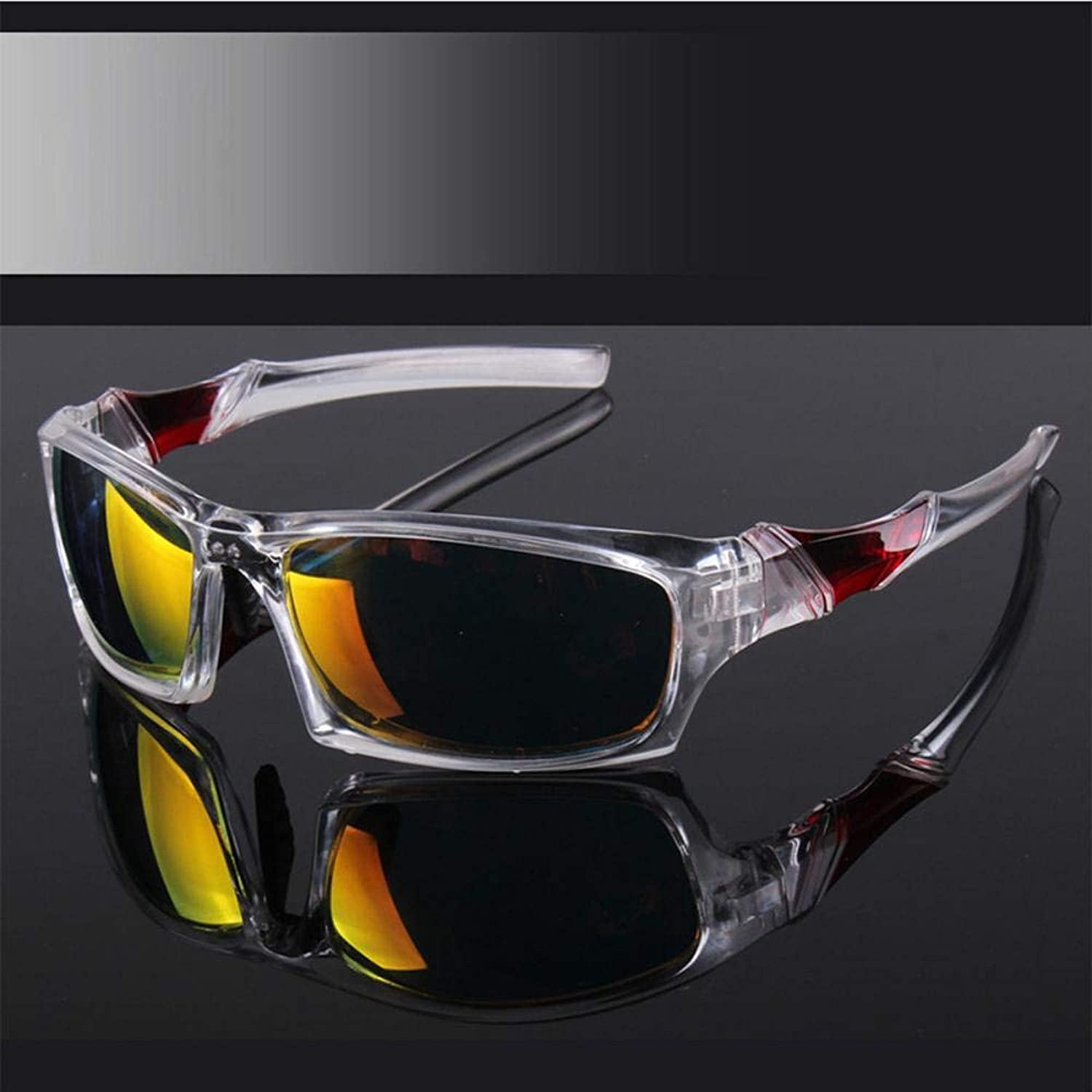 Gquan Predective Glasses Men and Women General Outdoor Sunglasses Exercise Glasses Riding Sunglasses Windproof Mirror WindBlown Glasses