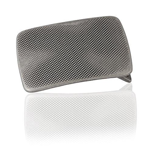 Gürtelschnalle Buckle 40mm Metall Silber Geschwärzt - Buckle Billy - Dornschliesse Für Gürtel Mit 4cm Breite - Silberfarben Geschwärzt