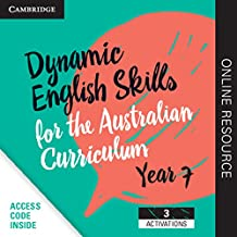 Dynamic English Skills for the Australian Curriculum Year 7 3 year subscription: A multi-level approach