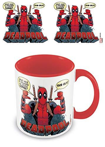 Deadpool MGC25301 Becher, Mehrfarbig