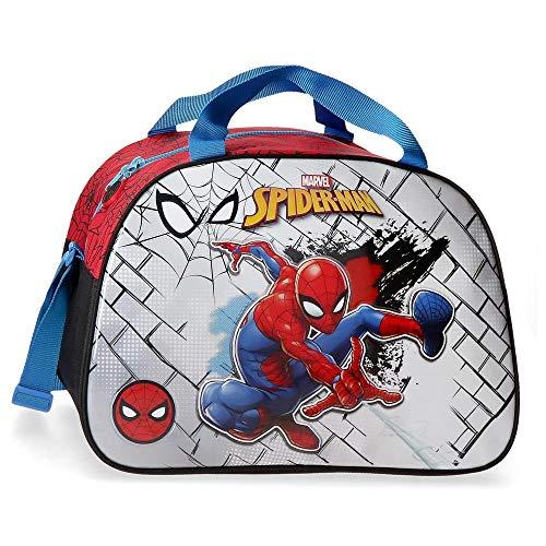 Marvel Spiderman Red Bolsa de Viaje, 40cm, Rojo