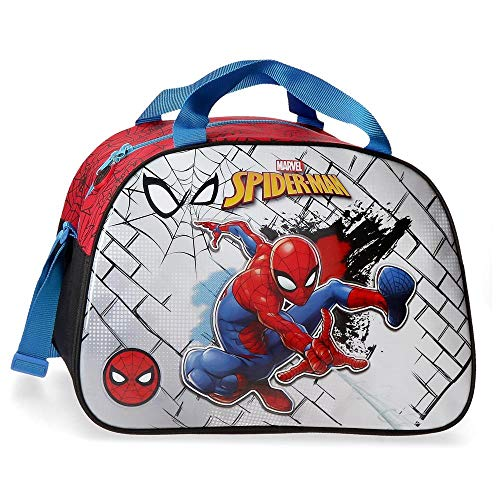 Marvel Spiderman Red Borsa da viaggio Rosso 40x28x22 cms Poliestere 24.64L