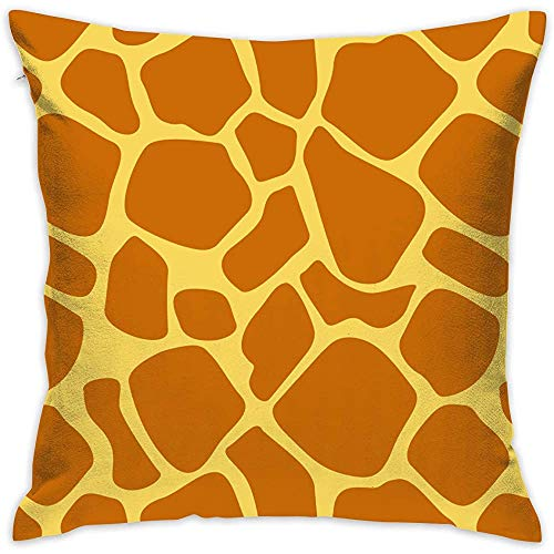 July decoratieve kussenslopen Animal Giraffe Print kussenslopen kussenslopen voor bank slaapkamer-8V-69R