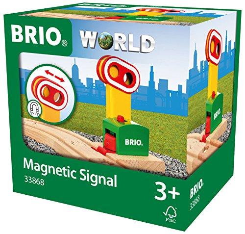BRIO WORLD マグネット式シグナル 33868