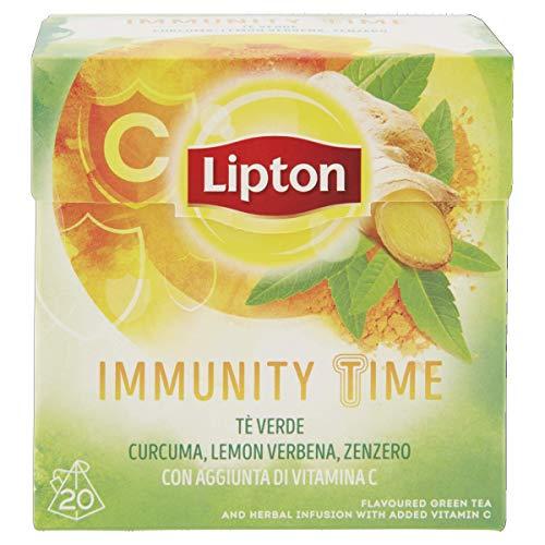 Lipton Tè Verde Immunity Time 20 Filtri, 30g