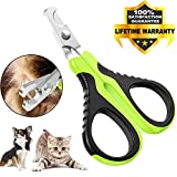 VICTHY Pet Nail Clippers for Small Animals, Dog/Cat Nail Clippers...