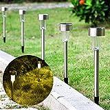 Luces de camino solar Fuente de luz exterior DIRIGIÓ Luces de camino a prueba de agua solar para patio de jardín y decoración de pasarela. (Emitting Color : 10PCS)