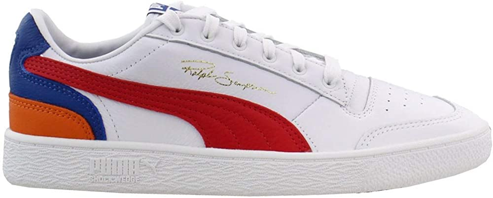 PUMA Mens Lo Primary X Ralph Sampson Lace Up Sneakers Shoes Casual - White