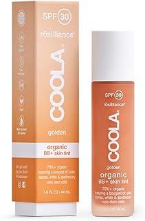 Sponsored Ad - COOLA Organic Rosilliance BB+ Cream, Tinted Moisturizer Sunscreen & Skin Care, Broad Spectrum SPF 30, Reef ...