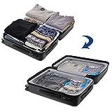 Songmics 10 tlg set 80 x 100 / 60 x 80 / 40 x 60 cm Vakuumbeutel für Kleidung mit Pumpe RVM102 - 5