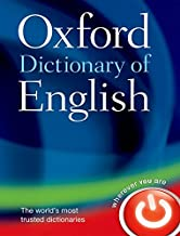 Oxford Dictionary of English (Oxford Dictionary Of English Third Edition)