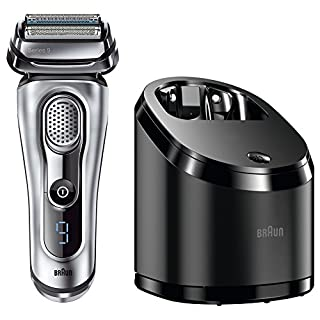 Braun Series 9 Elektrischer Rasierer 9090cc, mit Reinigungsstation Clean&Charge, silber (B00LZSPM0Y) | Amazon price tracker / tracking, Amazon price history charts, Amazon price watches, Amazon price drop alerts