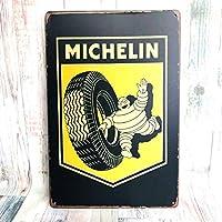 ブリキ看板 ミシュラン MICHELIN