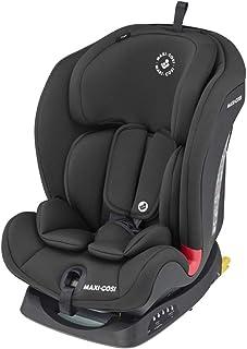 Maxi-Cosi Titan Silla Coche bebé grupo 1/2/3 isofix, 9 - 36 kg, silla auto bebé reclinable, crece con el niño desde 9 meses hasta 12 años, color negro