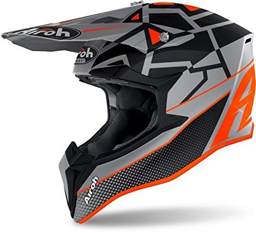Airoh Helmet Wraap Mood Orange...