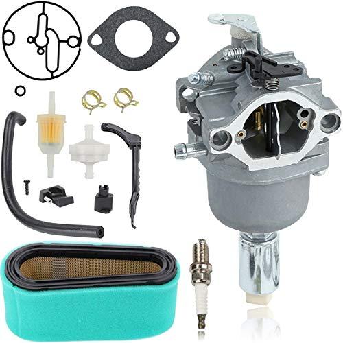 ZAMDOE 799727 Vergaser für Briggs & Stratton 698620 690194 791886 799727 695412 792768 496796 499153 14hp 15hp 16hp 17hp 17.5hp 18hp Motoren mit Teilesatz