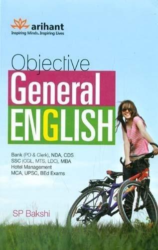 Arihant objective general english by sp bakshi