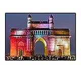 Posters Mumbai India Gate Architektur Kunst Leinwand