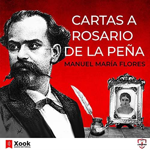 Diseño de la portada del título Cuatro Cartas a Rosario de la Peña
