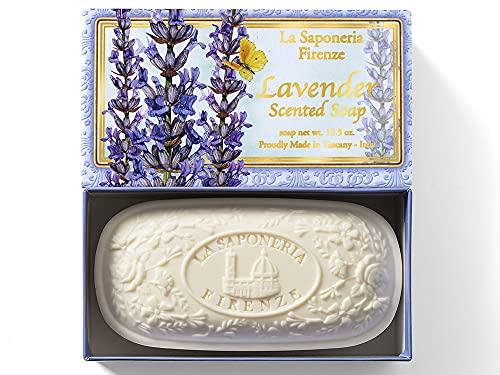 Lavender, caja de jabón de Saponificio Artigianale Fiorentino, 300g