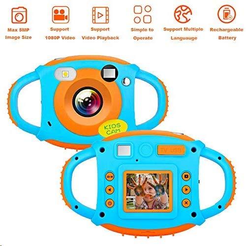 Cámara para Niños Camara Fotos Niños 1080P Cámaras de Fotos Digitales para Niños con Videocámara con Pantalla a Color HD de 1.77