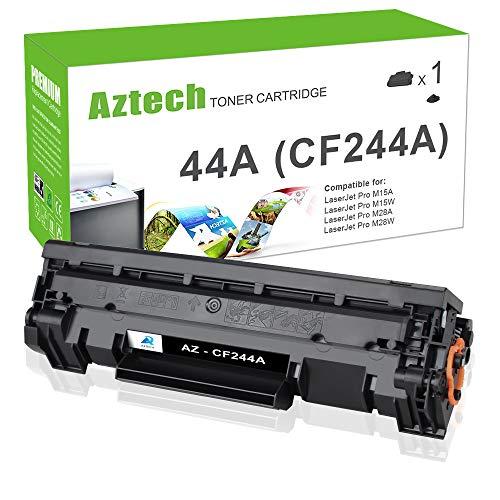 Aztech Kompatibel Toner Cartridge Replacement für HP CF244A HP 44A Toner für HP Laserjet Pro M15w HP Laserjet Pro MFP M28w HP Laserjet Pro M15a M16a M16w M28a M28w HP Laserjet MFP M28a M29a M29w Toner