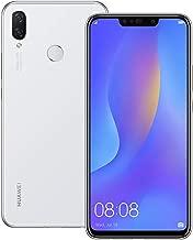 Huawei nova 3i (INE-LX2) 4GB / 128GB 6.3-inches Dual SIM Factory Unlocked - International Stock No Warranty (Pearl White)