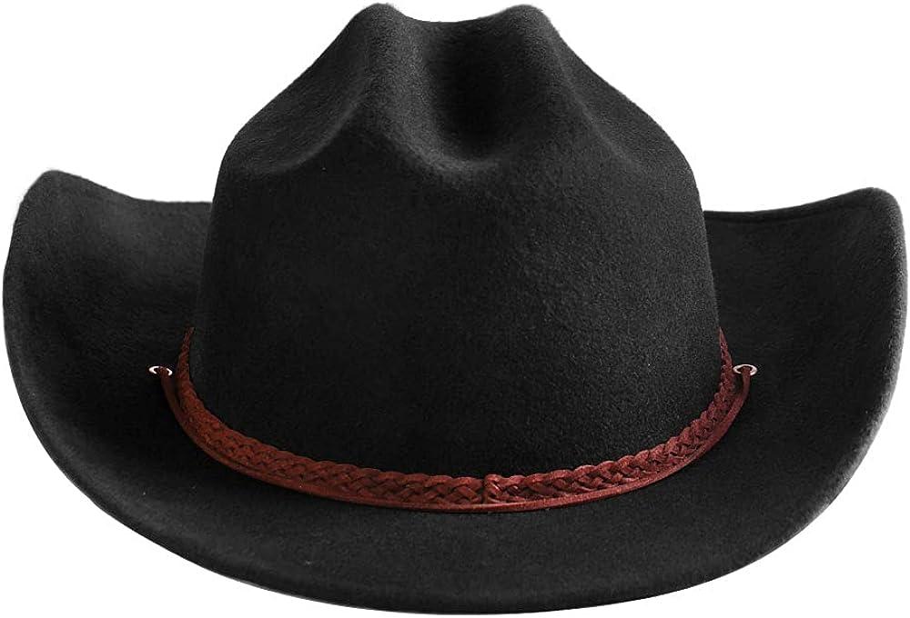 Popular popular Samplife Western Cowboy Hat Men Cowgirl Mexican Fedor San Diego Mall Style Wool