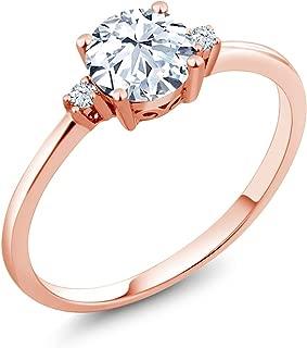 rose cut sapphire engagement ring