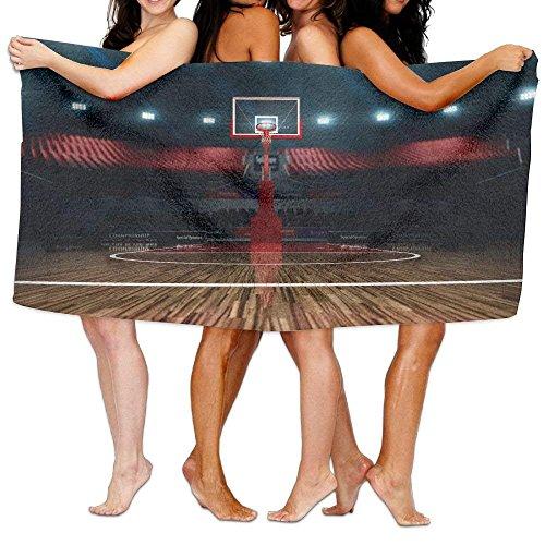 K-GHAdiy Basketball Court Super Soft Unisex Beach Shower Towel 31