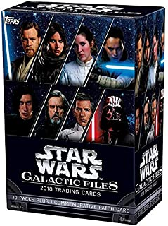 star wars galactic files trading cards
